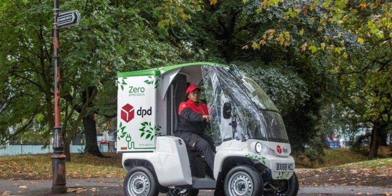 véhicule électrique dpdgroup