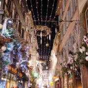 Décorations de Noël en centre-ville