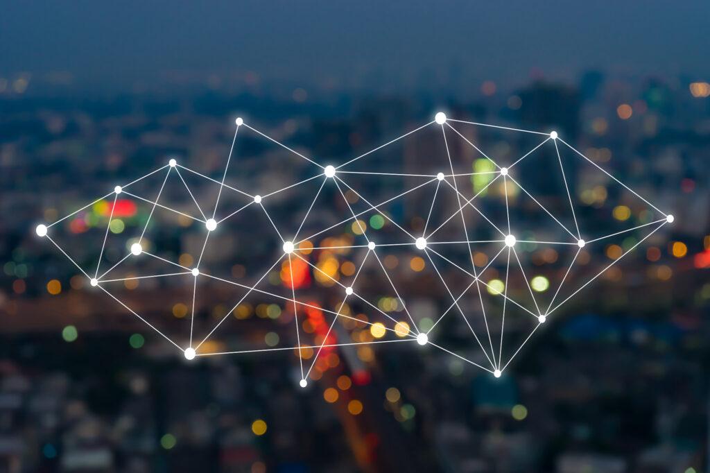 Graphique de réseau