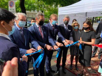 La mission diplomatique à Strasbourg a été transformée en Consulat général du Kazakhstan